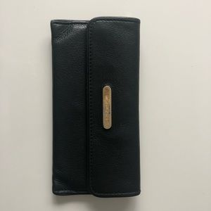 Genuine Leather Michael Kors Wallet Black